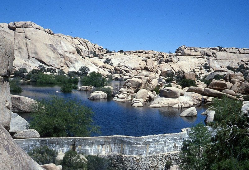 Hiking Barker Dam Nature Trail in Joshua Tree