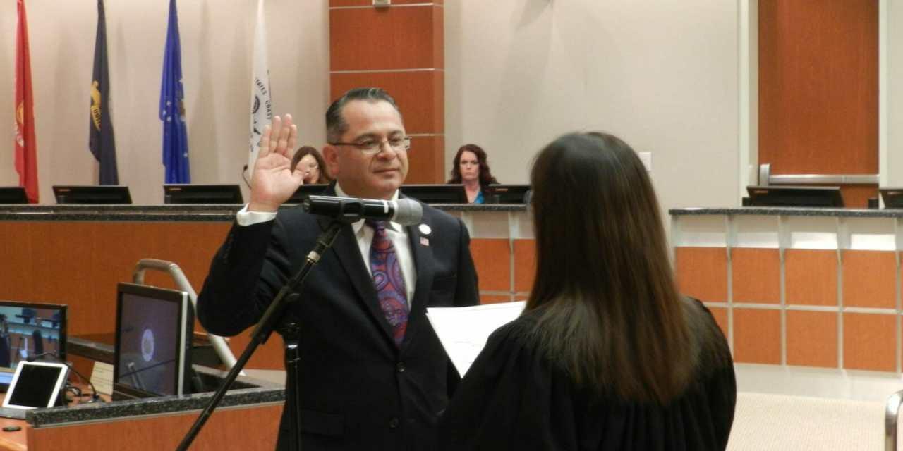 Supervisor Perez Takes Oath, Begins New Term