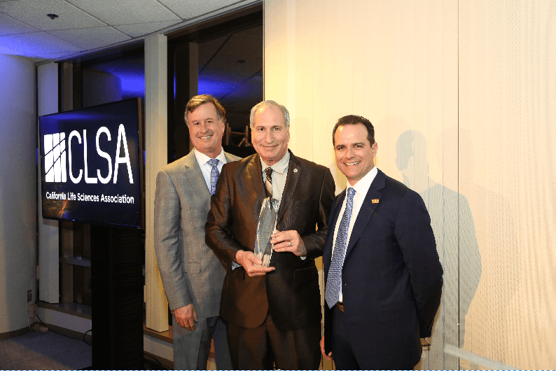 Life Sciences Award Bestowed Upon Sen. Stone