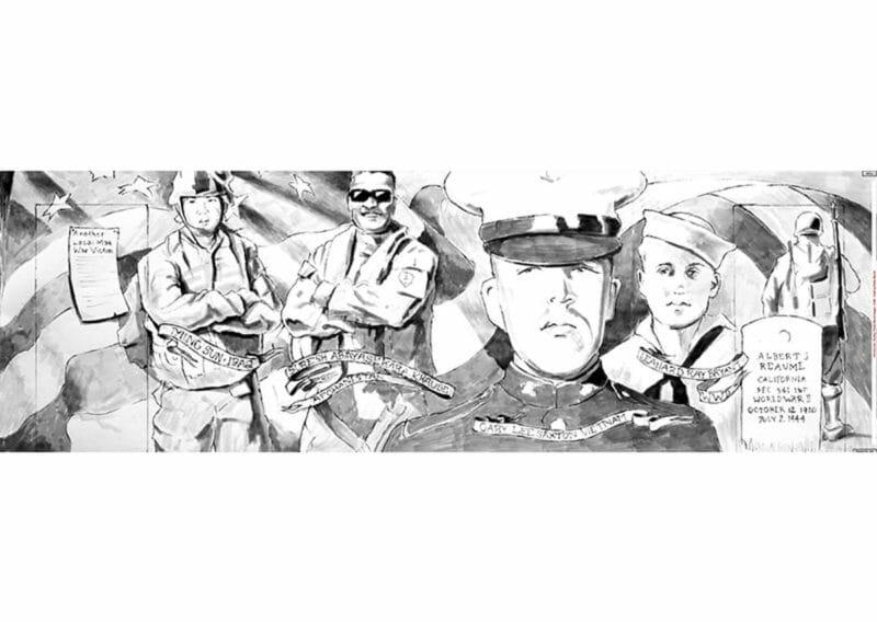 Patriot Park Could House Veteran Tribute Mural