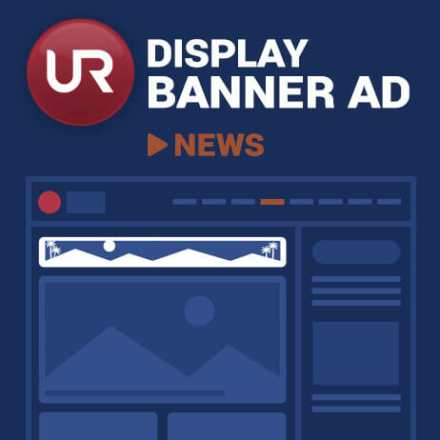 Display News Section Banner Ads