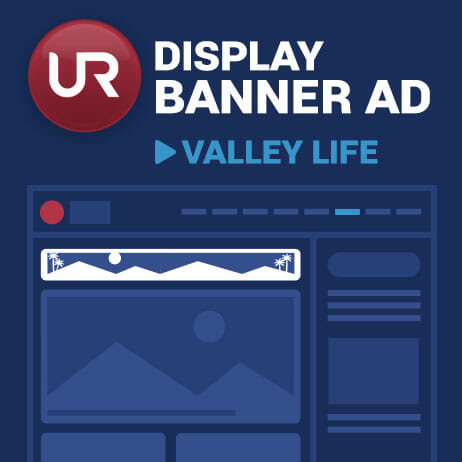 Display  Valley Life Section Banner Ads