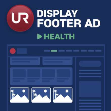 Display Health Section Footer Ads