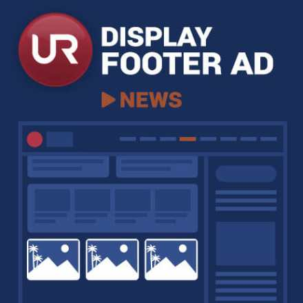 Display News Section Footer Ads