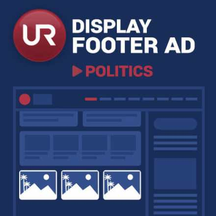 Display Politics Section Footer  Ads