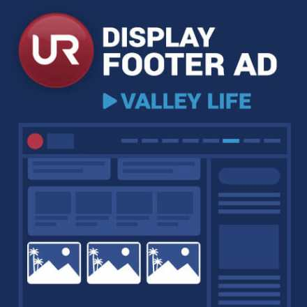 Display Valley Life Section Footer  Ads