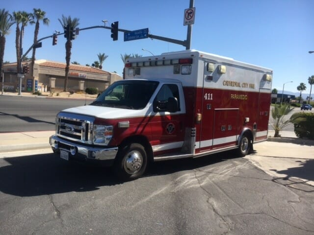 Cathedral City Firefighters Work to Fill the Boot