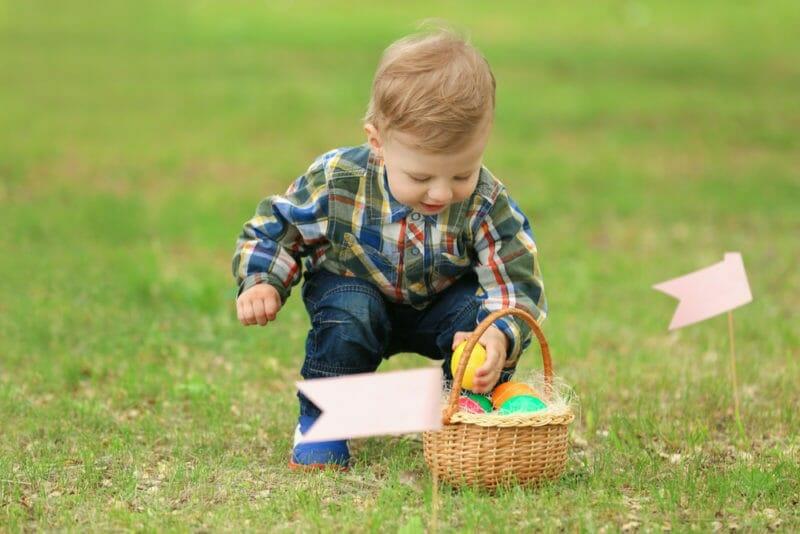 Easter Egg Hunt Showcases 30,000 Eggs