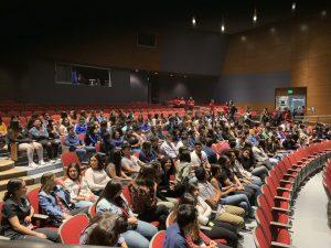Indio High School Calls Order in the Court