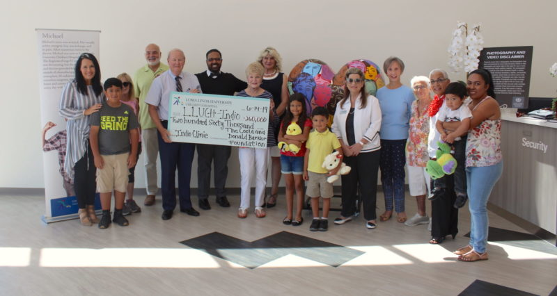 Barker Foundation Gifts $260,000 to Indio clinic