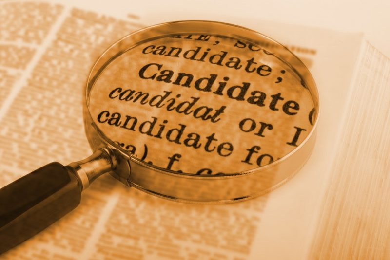Roster of Candidates Identified in Palm Springs