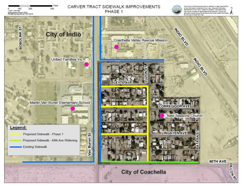 Carver Tract Receives Approval for Sidewalks