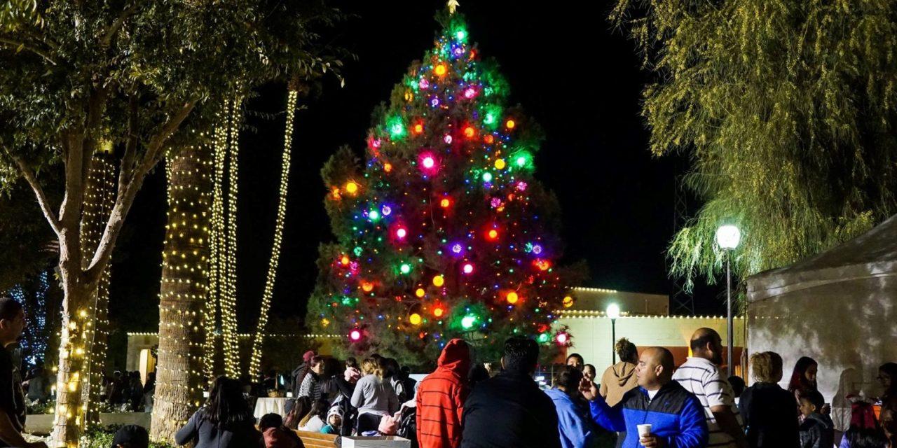 Candy Land Christmas Comes to Coachella