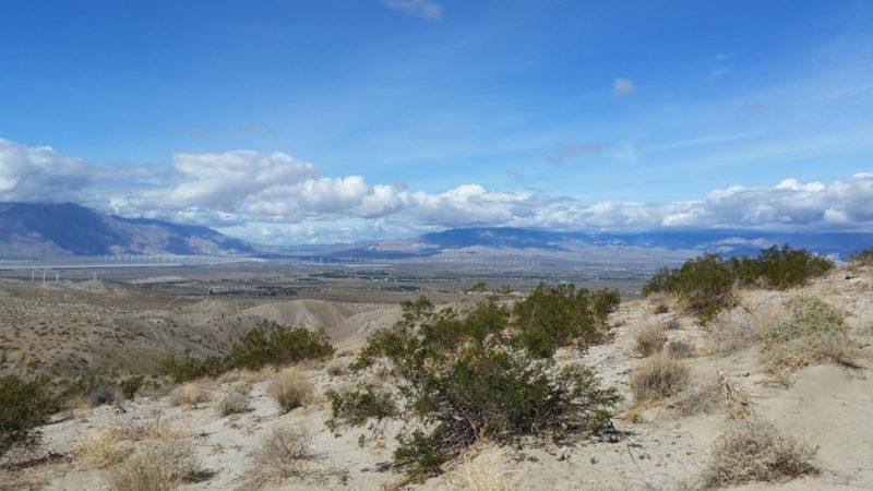 New Trail Heads Through Indio Hills Badlands