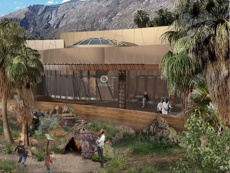 Groundbreaking Set: New Arena at Agua Caliente