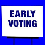 Early Voting Available at Registrar's Office, Malls
