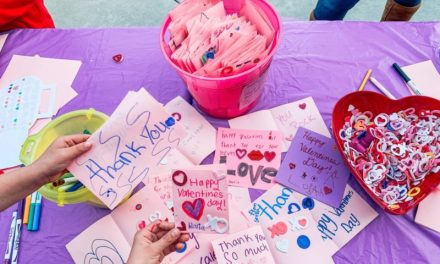 Pupils Create Valentines for Hospitalized Veterans