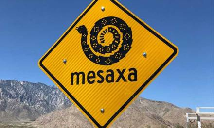 City Park Road Signs Celebrate Cahuilla Language