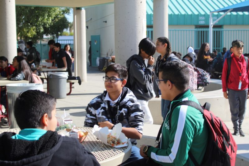 Tigers Roar at Indio Middle School