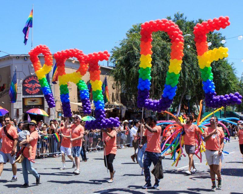 LA Pride Assembles Peaceful Protest