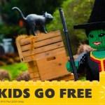 Legoland Kids go FREE Halloween Offer