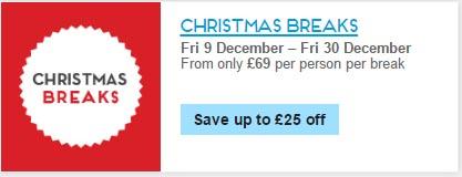 christmas breaks butlins