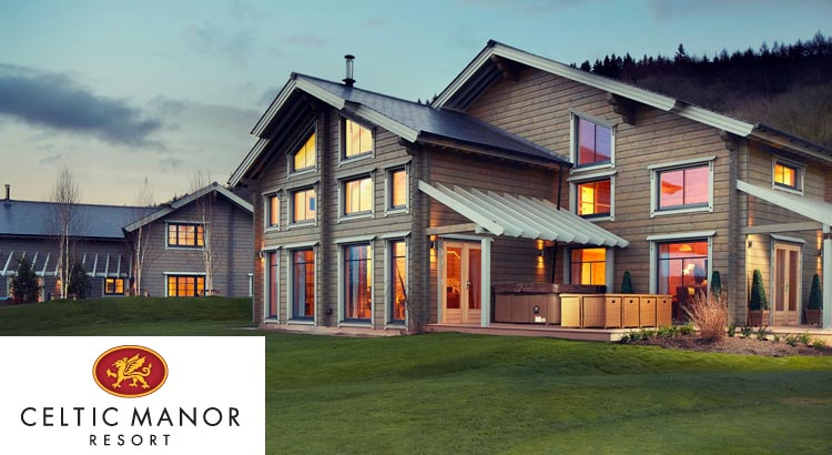 Celtic Manor Hunter Lodges - Save 10% off Summer Holidays