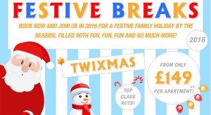 Pontins Christmas and Trixmas Holidays from just £149