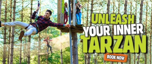 Goape tree top adventures