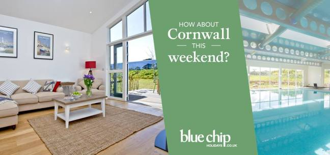 Stay in Cornwall with Blue Chip Holidays