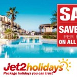 Jet2 Holidays Sale – Save £100pp on 2017 Holidays