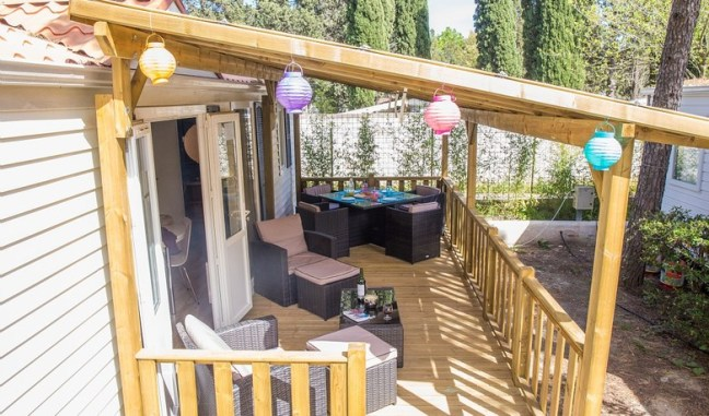 Al Fresco guarantees your comfort and privacy in each of its fully equipped mobile holiday homes at affordable prices.
