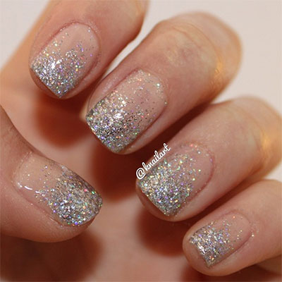10 stylish nail art glitter ideas 2015