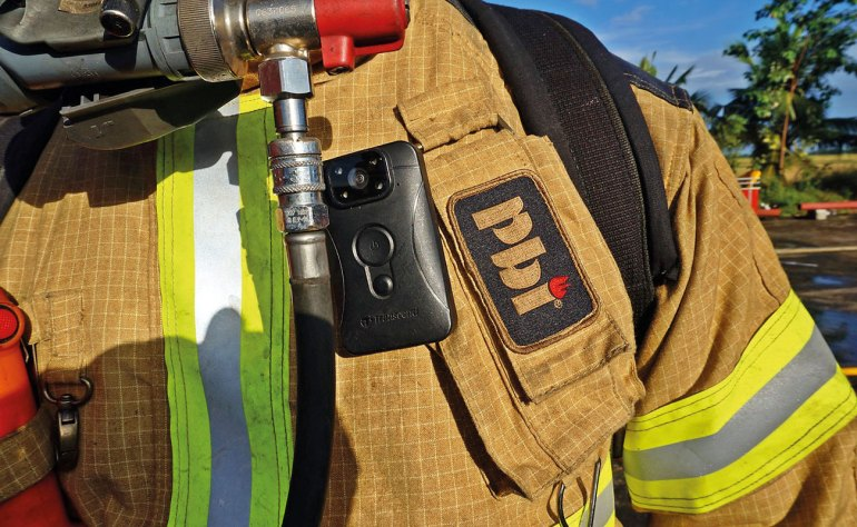 PBI fabrics are the first line of defence on the fireground.