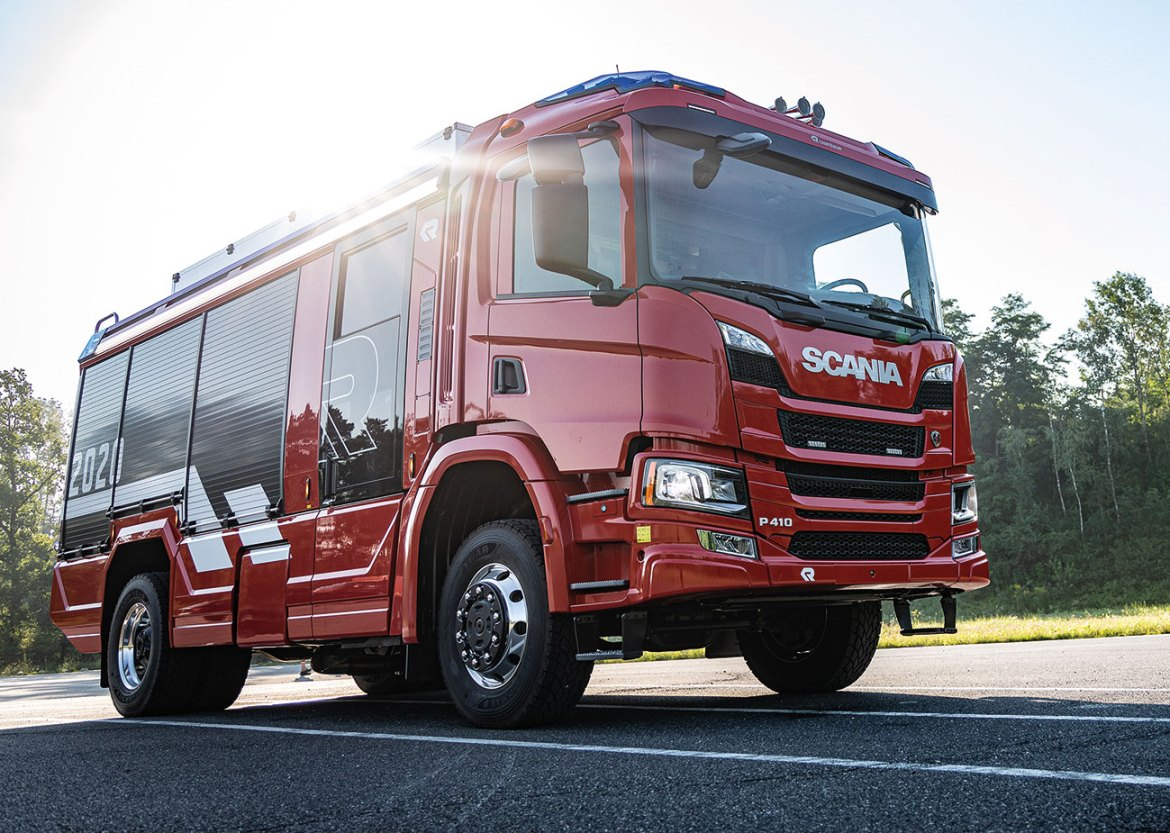 The AT is the leading example of how state-of-the-art technology can be used to enhance the appearance, functionality and capabilities of traditional fire engines.
