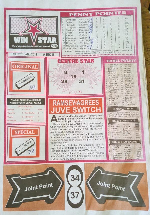 Week 28 Winstar Pg1