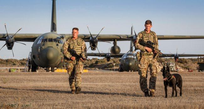 RAF 34 Squadron Return To Cyprus
