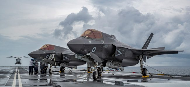 Royal Navy – F35b Lightning II Fighter Jets