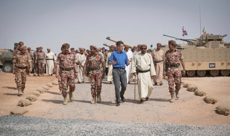 UK cements position in Gulf with new joint base in Oman