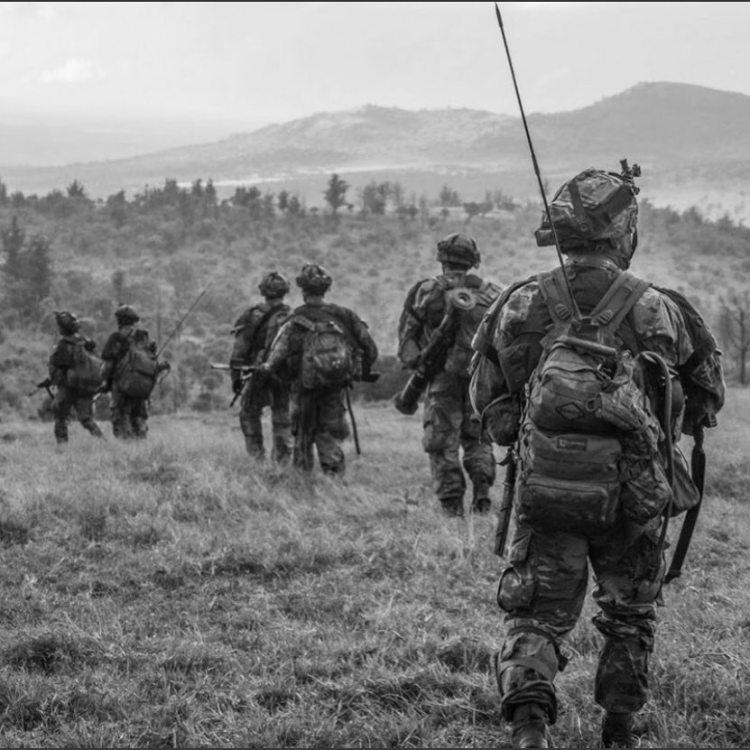 U.S.  & U.K.  Paratroopers In Kenya For Operation Askari Storm