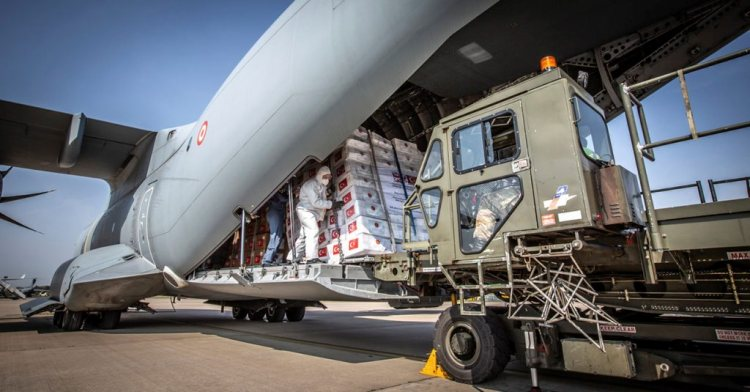 PPE delivered into RAF Brize Norton – MACA
