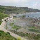 The new seawall at Church Cliffs