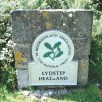 Lydstep Headland sign
