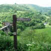 Sign post - go left to Monsal Dale