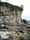 Low cliffs
