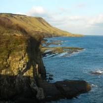 Rigg from cliffs