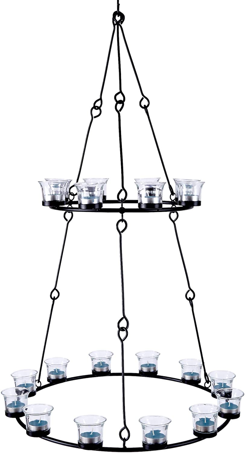 2 tier chandelier for bell tents