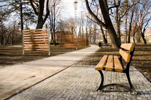 Park Miejski w Głubczycach - luty 2016 (12)