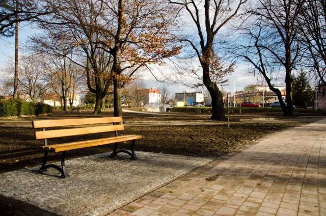 Park Miejski w Głubczycach - luty 2016 (2)