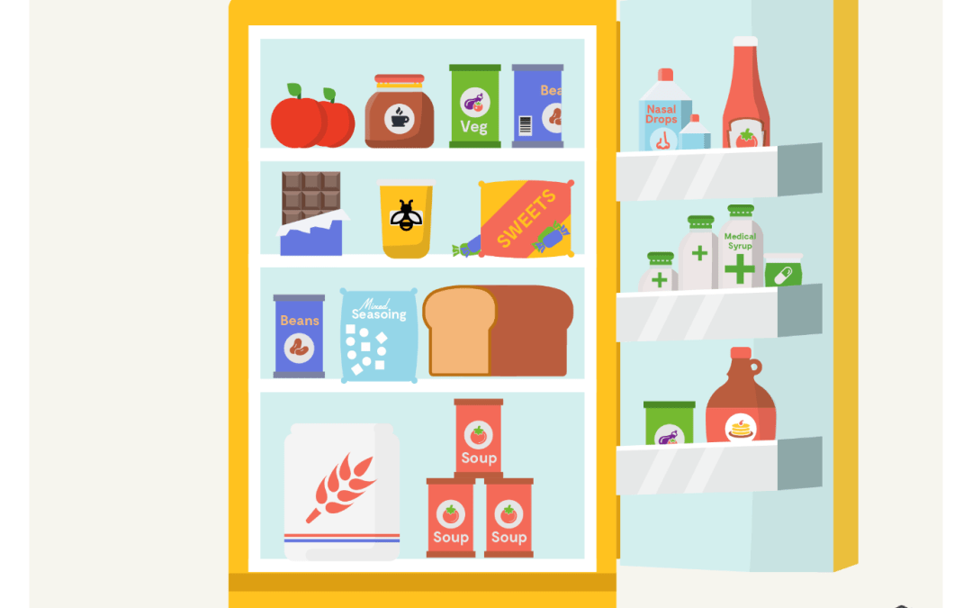 Here is what people from around the world keep in their fridge